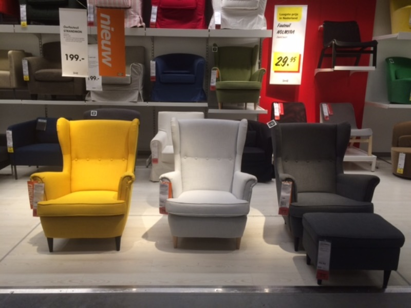 Ikea Gele Stoel