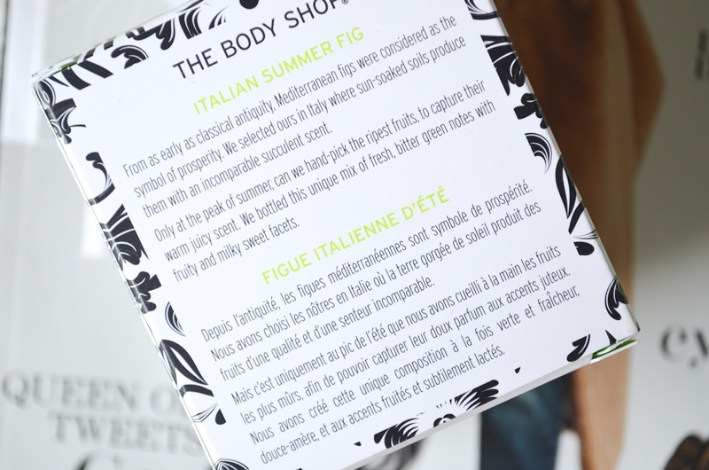 DSC 7957 - The Body Shop Italian Summer Fig Review