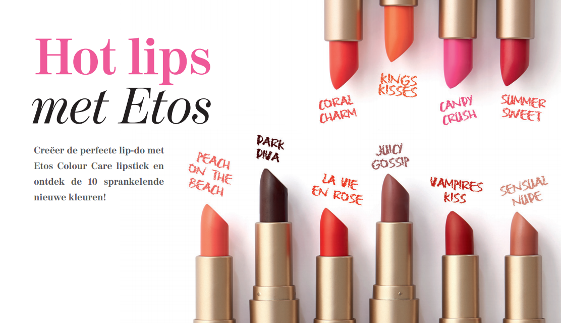 Nieuwe Etos Colour Care Lipsticks - Nieuwe Etos Colour Care Lipsticks Review