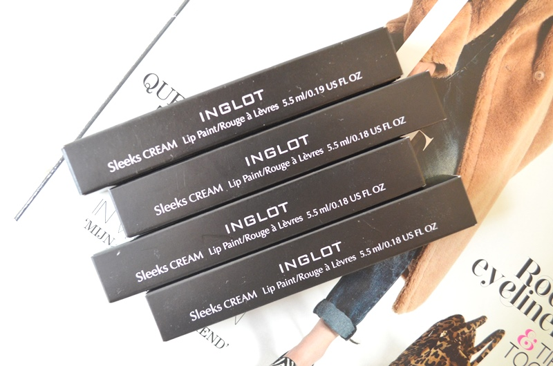 DSC 9472 - Nieuwe Inglot Sleeks Cream Lip Paint Review