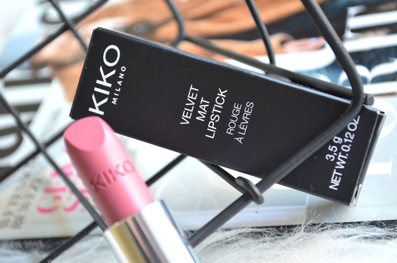 DSC 0597 - New in! Kiko Velvet Mat Lipstick #613 Review