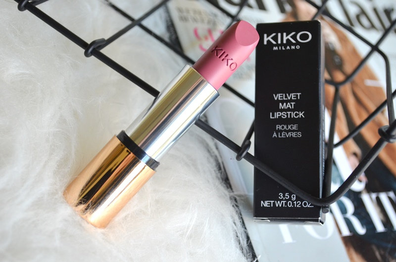 DSC 0603 - New in! Kiko Velvet Mat Lipstick #613 Review