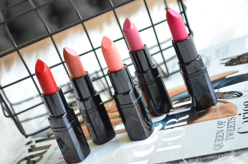 DSC 0701 - Nieuwe Inglot Lipstick Matte Lipsticks (5x) Review