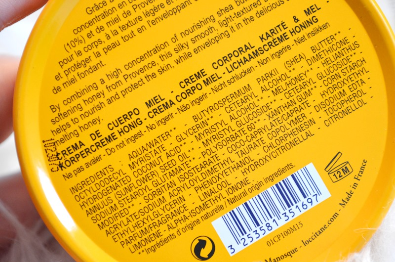DSC 0911 - L'Occitane en Provence Shea & Honey - Melting Honey Review