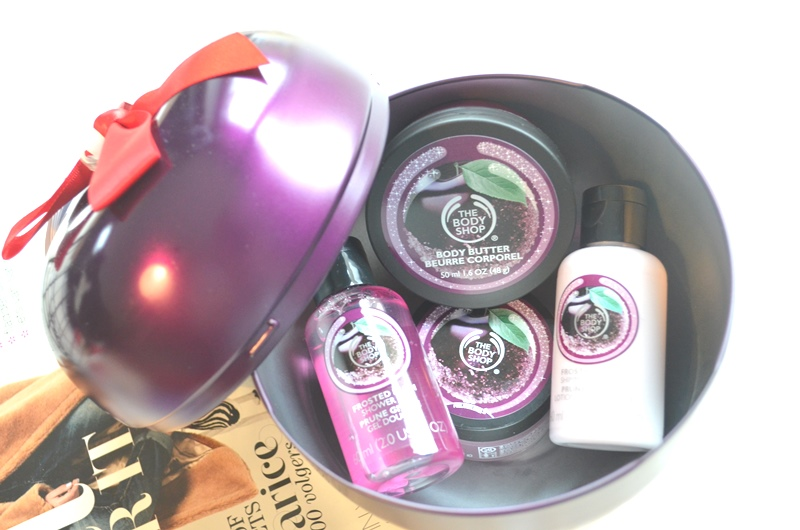 DSC 3186 - The Body Shop Kerst Collectie 2015 + Frosted Plum Review!