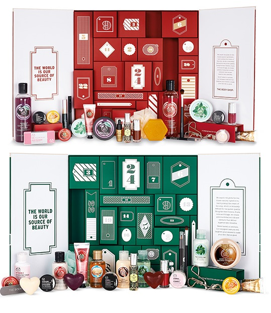 The Body Shop Adventskalender €120,00 en €75,00 Elisejoanne.nl