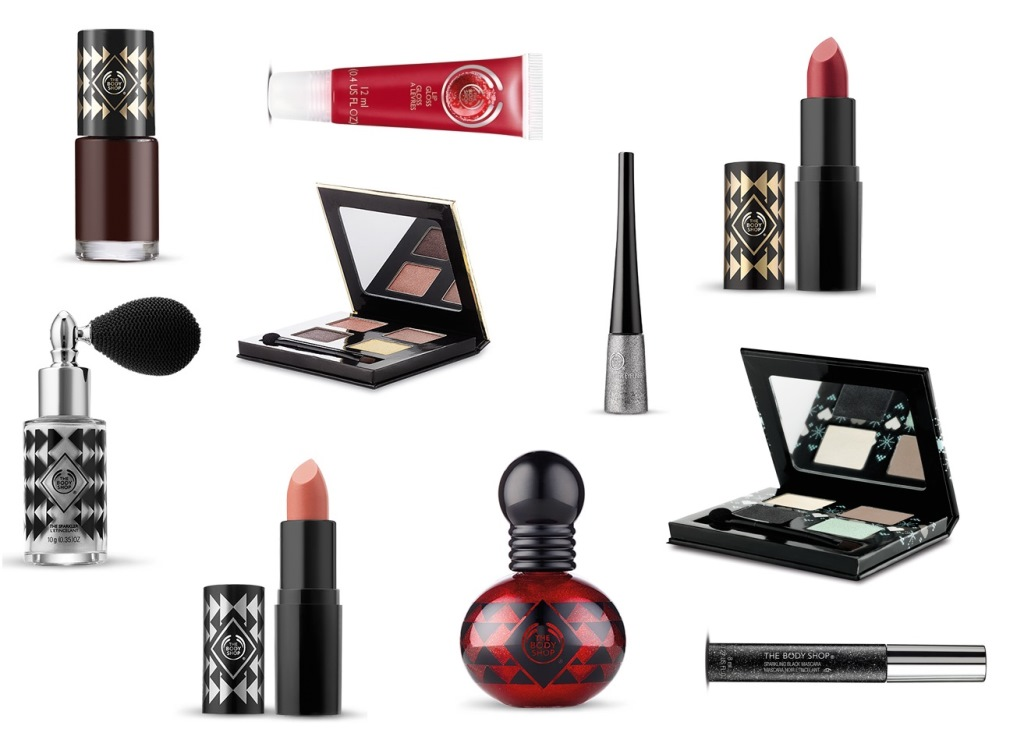 The Body Shop Kerstcollectie 2015 Make-up Elisejoanne.nl