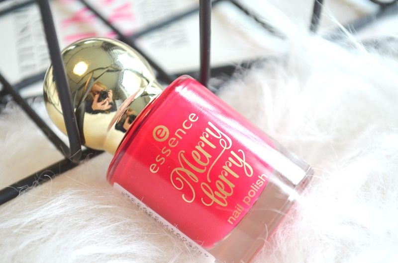 DSC 5075 - Essence 'Merry Berry' Holiday Collection Nail Polish Review