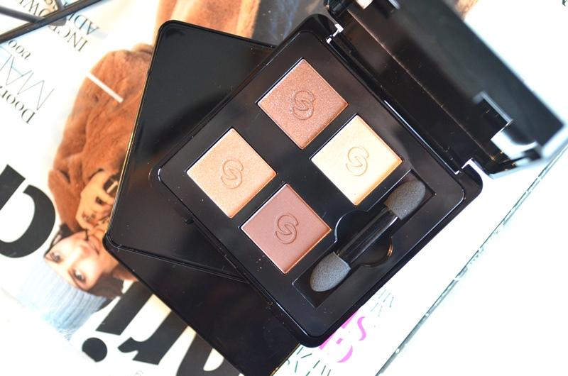 DSC 5283 - Oriflame Giordani Gold Eye Shadow Quads Kerst 2015 Review