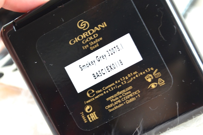 DSC 5300 - Oriflame Giordani Gold Eye Shadow Quads Kerst 2015 Review