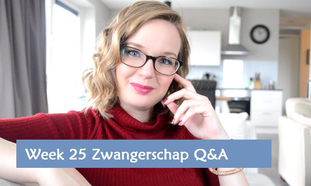 Zwangerschapsdagboek Week 25 Q en A Still Elisejoanne.nl Banner