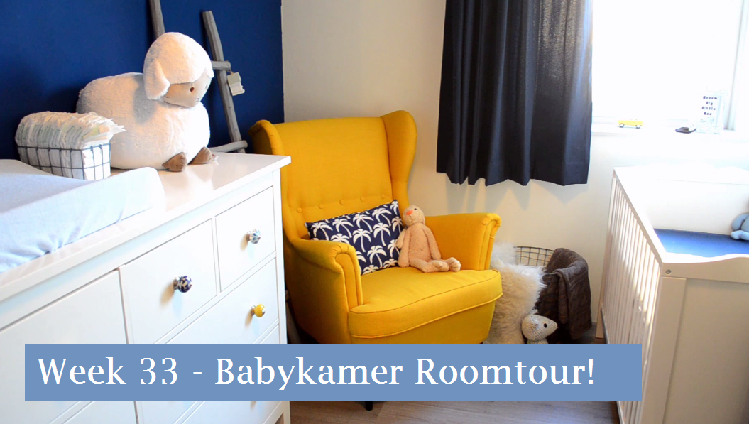zwangerschapsupdate week 33 - babykamer roomtour! video + foto's, Deco ideeën