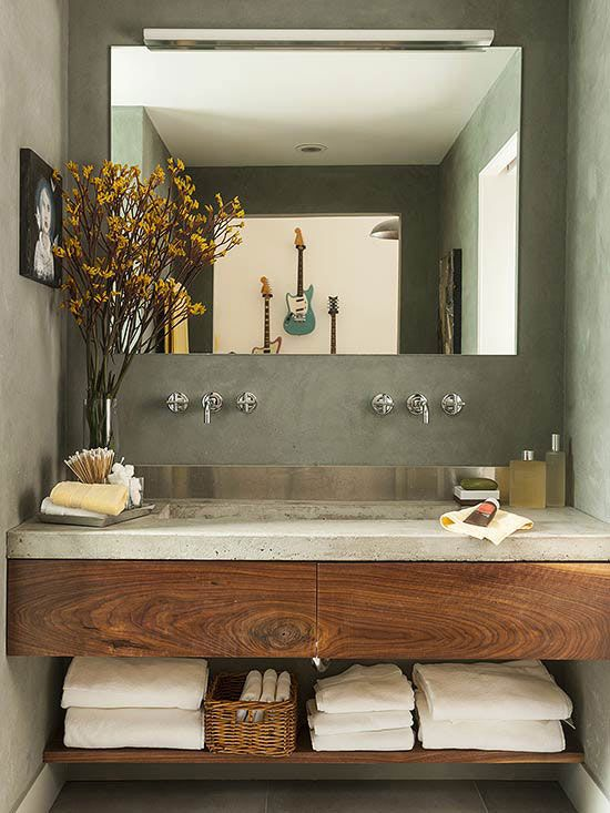 Warmte Badkamer