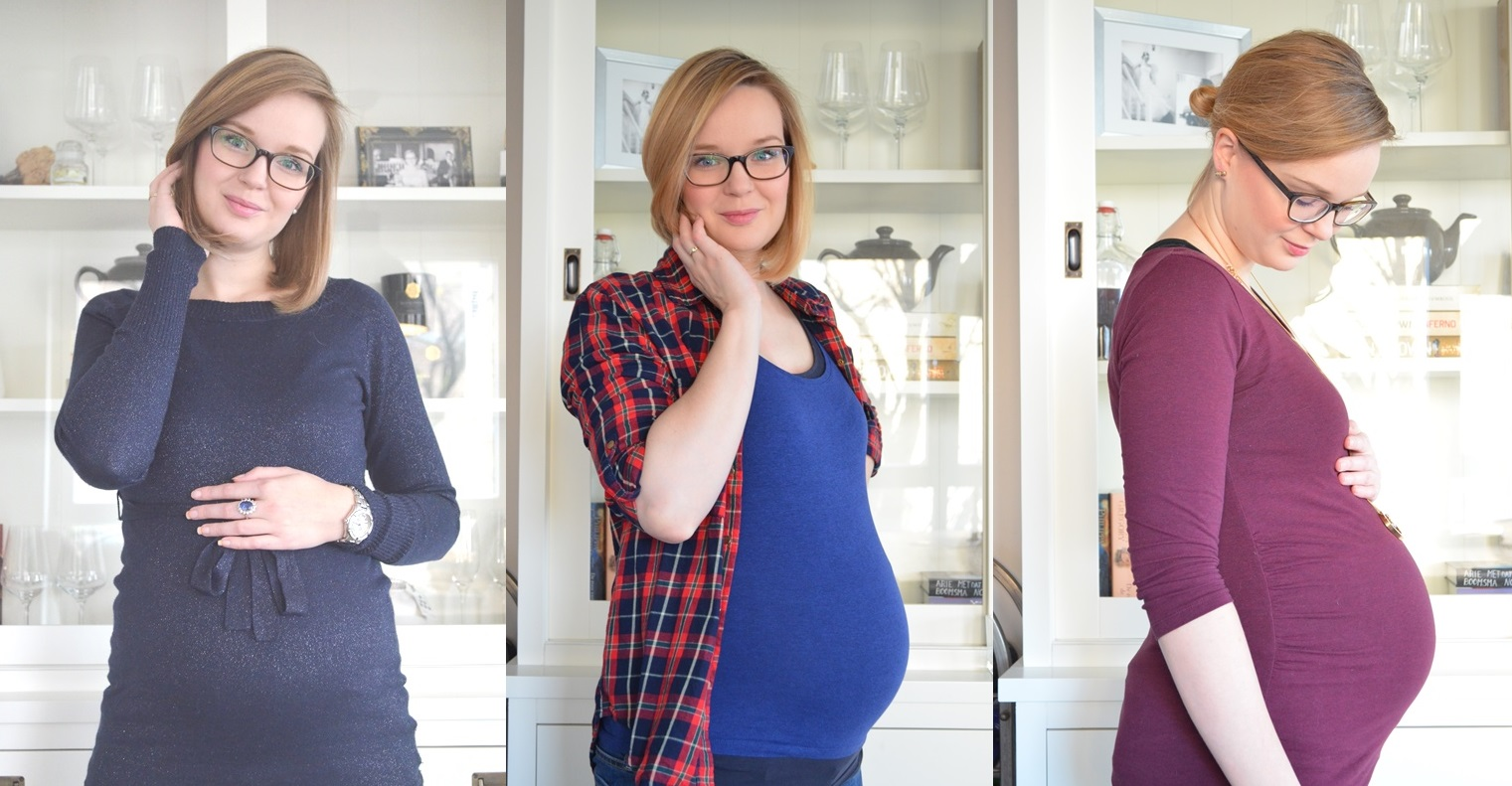 Buikcompilatie Elisejoanne.nl  - De Evolutie van mijn Zwangere Buik van Week 4 - Week 37