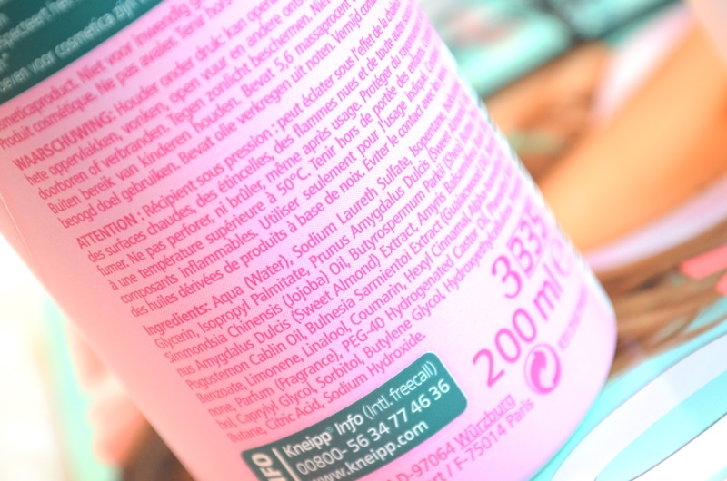 DSC 6363 - Nieuwe Kneipp Amandelbloesem Douche Foam & Body Lotion Review