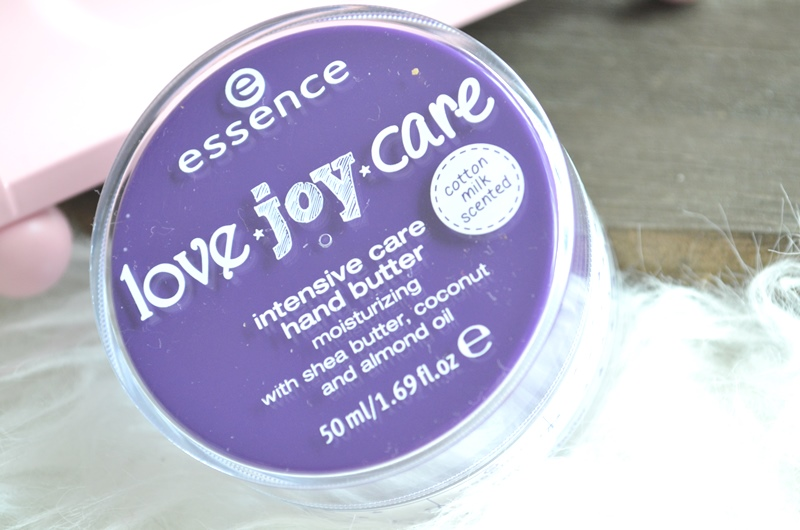 DSC 3160 - Essence Love Joy Care - Hand Butter Review
