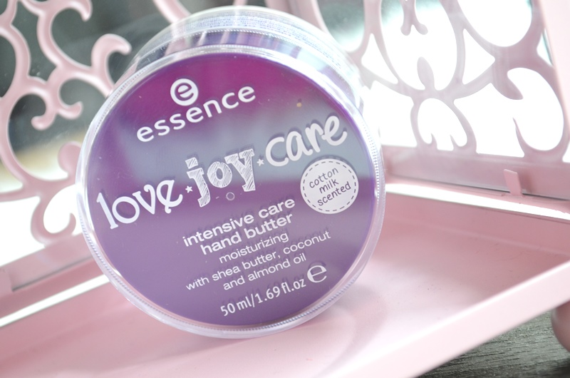 DSC 3164 - Essence Love Joy Care - Hand Butter Review