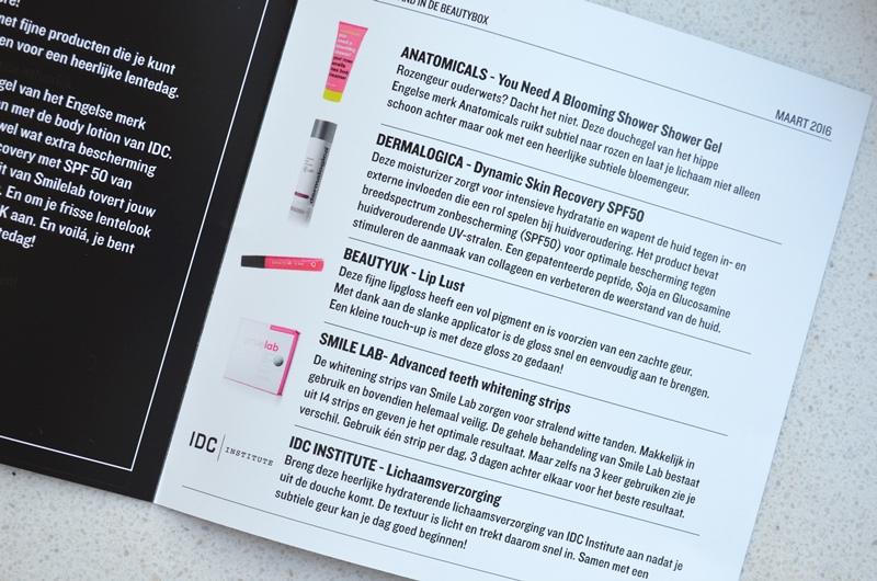DSC 3556 - Unboxing Beautybox Maart 2016 (Artikel)
