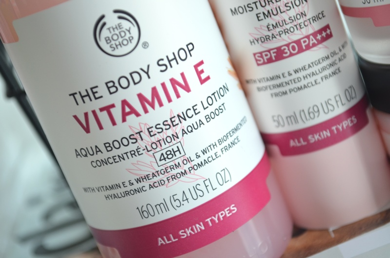 The Body Shop - Vernieuwde Vitamine E Collectie Review
