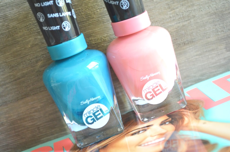 Nieuwe Sally Hansen Miracle Gel 2.0 Nagellak 2x Swatches