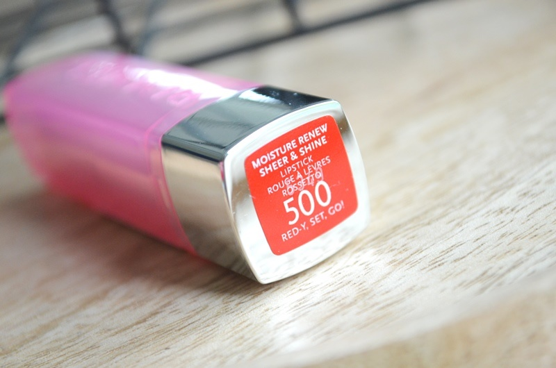 DSC 5406 - Rimmel Moisture Renew Sheer & Shine Lipsticks Review