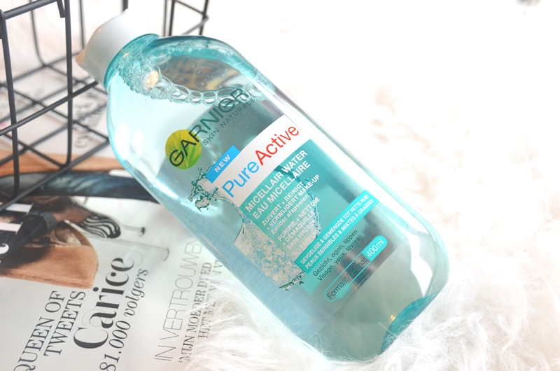 Garnier Pure Active Micellair Water Review