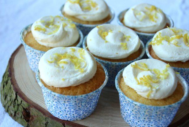 Sanne's Baksels - Citroen Cupcakes