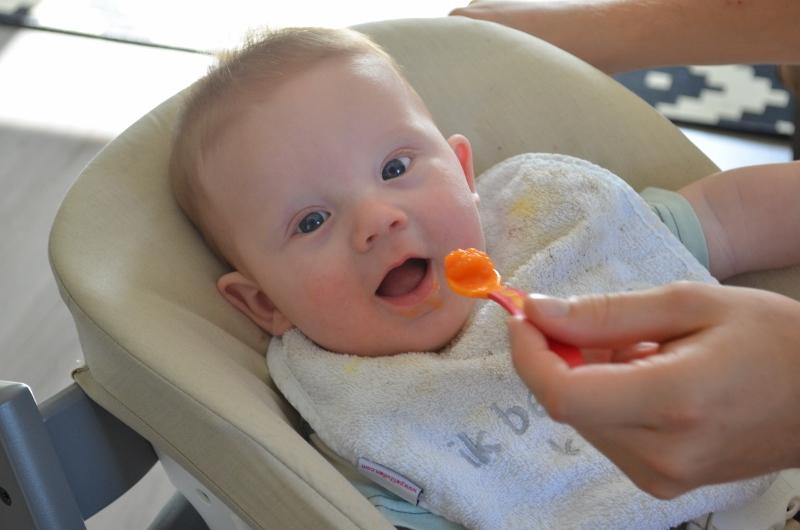 Babys Eerste Vaste Hapjes Hoe Wat Waar Elise Joanne