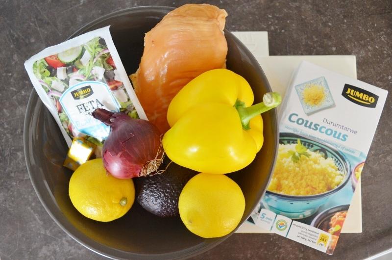 DSC 0383 800x530 - Snelle & Makkelijke Couscous Salade met Gerookte Kip