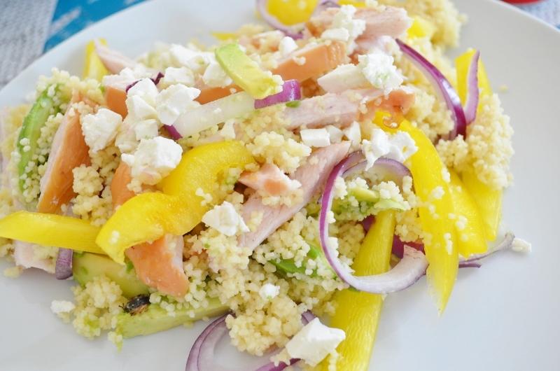 DSC 0405 800x530 - Snelle & Makkelijke Couscous Salade met Gerookte Kip