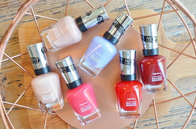 Nieuwe Sally Hansen Salon Manicure Zomer 2016