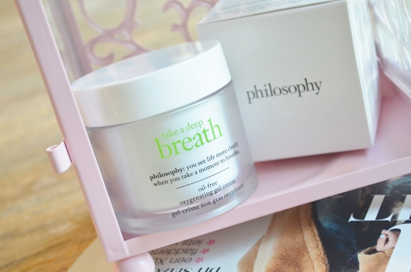 Nieuwe Philosophy 'Take a Deep Breath' Gel Cream Review