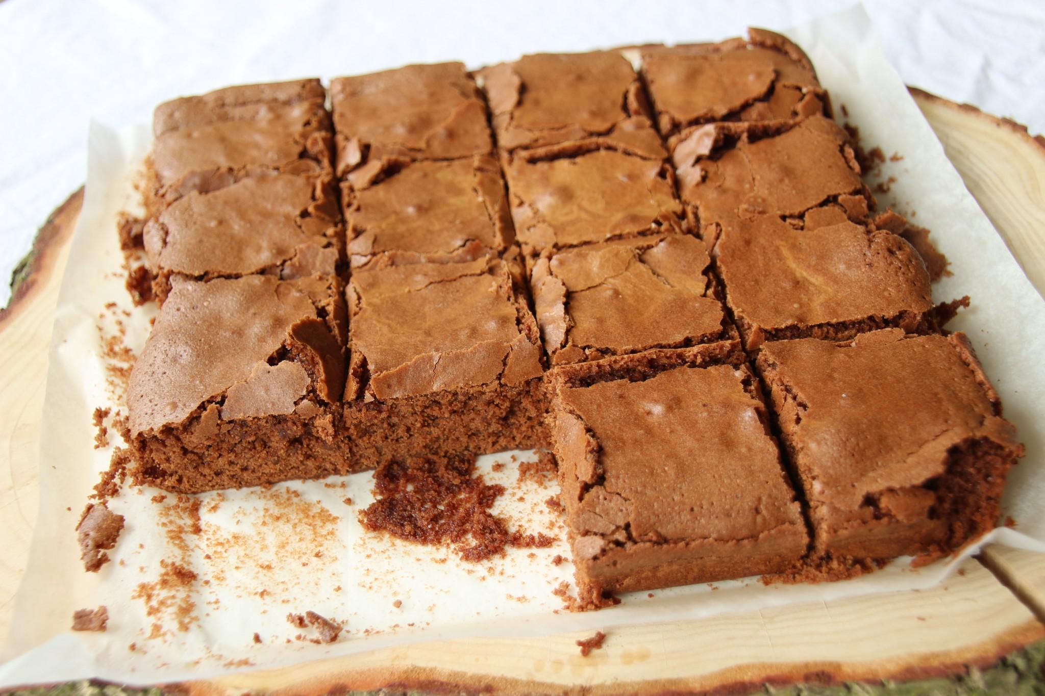 Sanne's Baksels - Luchtige Brownies