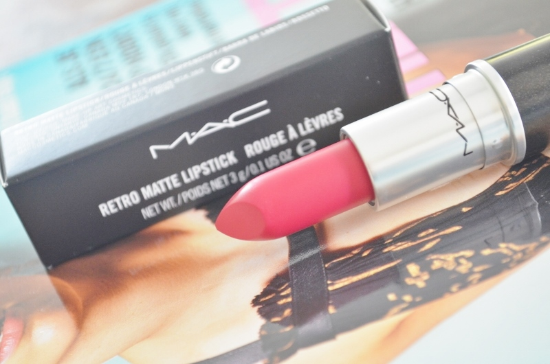 New in! M.A.C All Fired Up (Retro Matte) Swatches & Review
