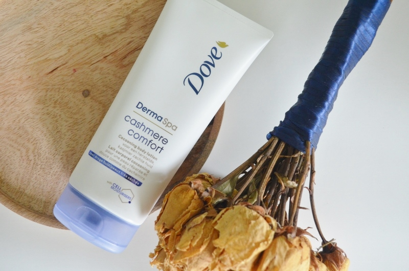 DSC 0809 800x530 - Dove Derma Spa Cashmere Comfort Review