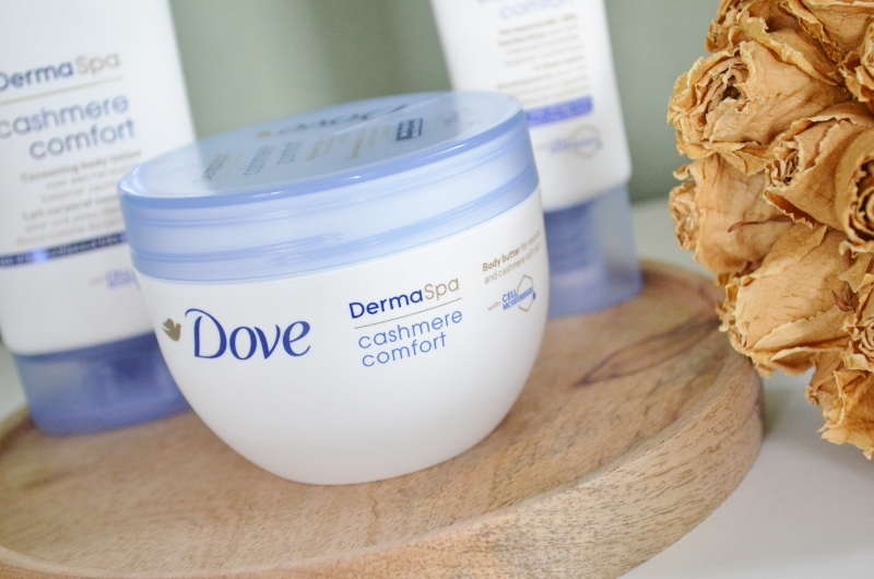 DSC 0818 800x530 - Dove Derma Spa Cashmere Comfort Review