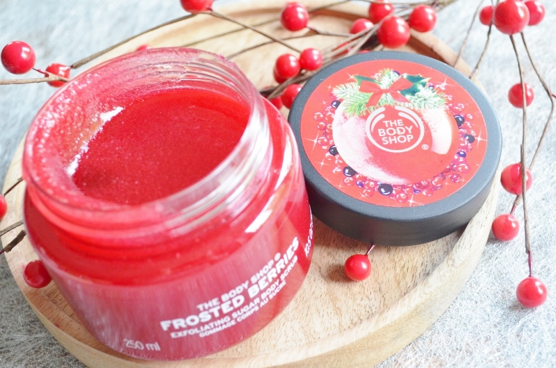 The Body Shop Frosted Berries Scrub 250 ml €15,-