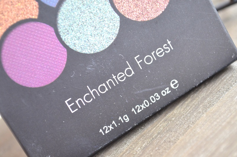 Sleek Enchanted Forest Plaette Review