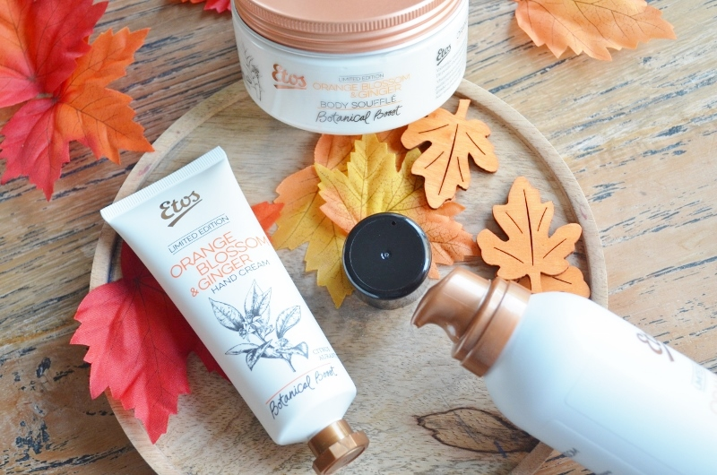 Etos Botanical Boost - Orange Blossom & Ginger Hand Cream 75 ml €3,49
