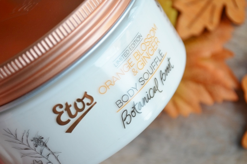 Etos Botanical Boost - Orange Blossom & Ginger Body Souffle 200 ml €4,99