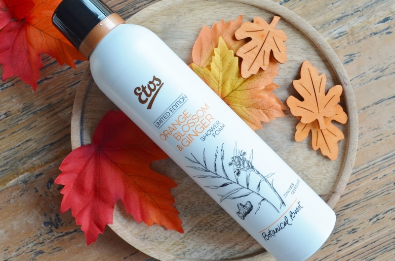 Etos Botanical Boost - Orange Blossom & Ginger Shower Foam 200 ml €4,99