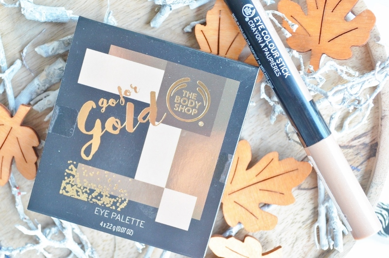 The Body Shop - Go for Gold Eye Look Review (Kerst)