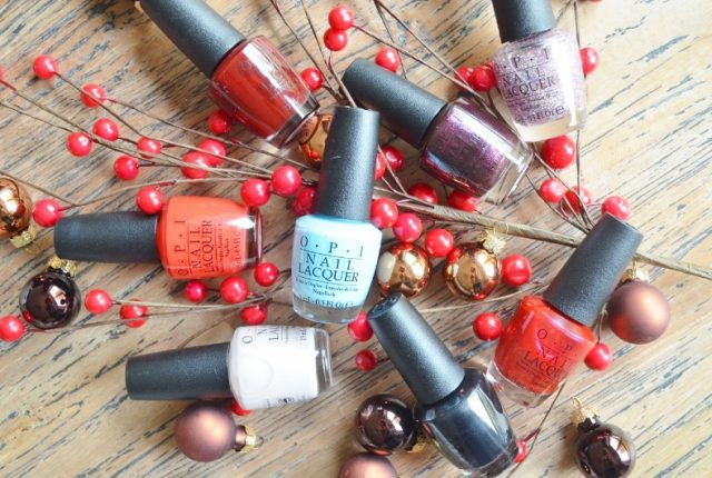 O.P.I Kerstcollectie 2016 - Breakfast at Tiffany's Review