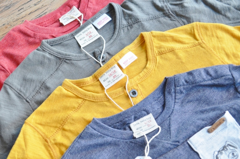 Kleine Zara Baby Shoplog (Artikel)