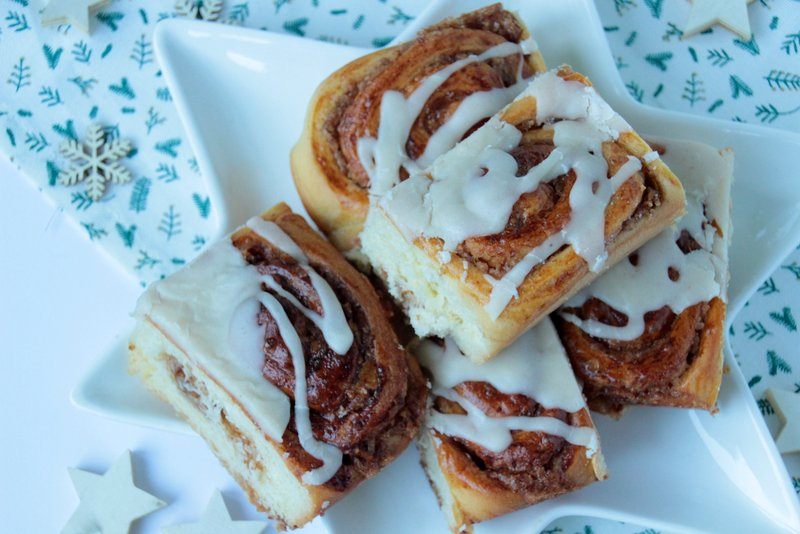 Sanne's Baksels - Spiced Christmas Rolls