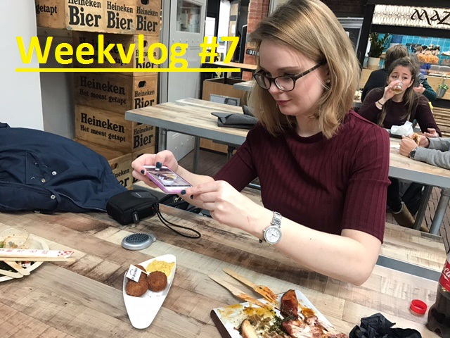 Weekvlog 7 - Weekvlog #7: Zwemmen, Dansen, Foodhallen & Geen Discipline?