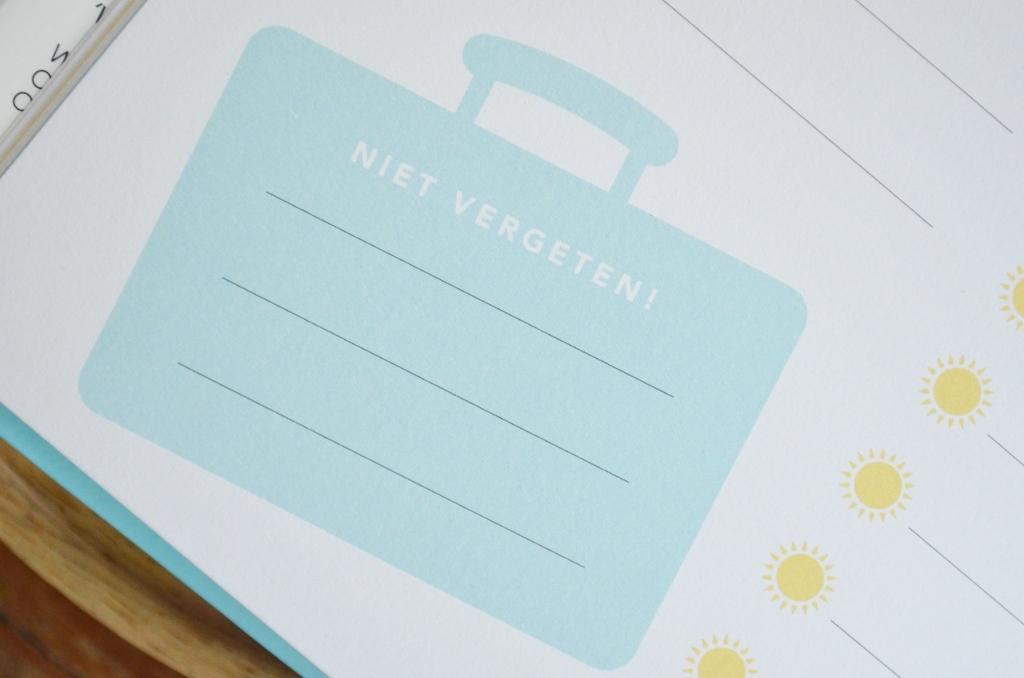 Familie Vakantiedagboek - Om samen met/voor je kind(eren) in te vullen