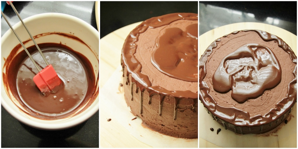 Sanne's Baksels - Driedubbele Chocolade (mijn verjaardags)Taart!