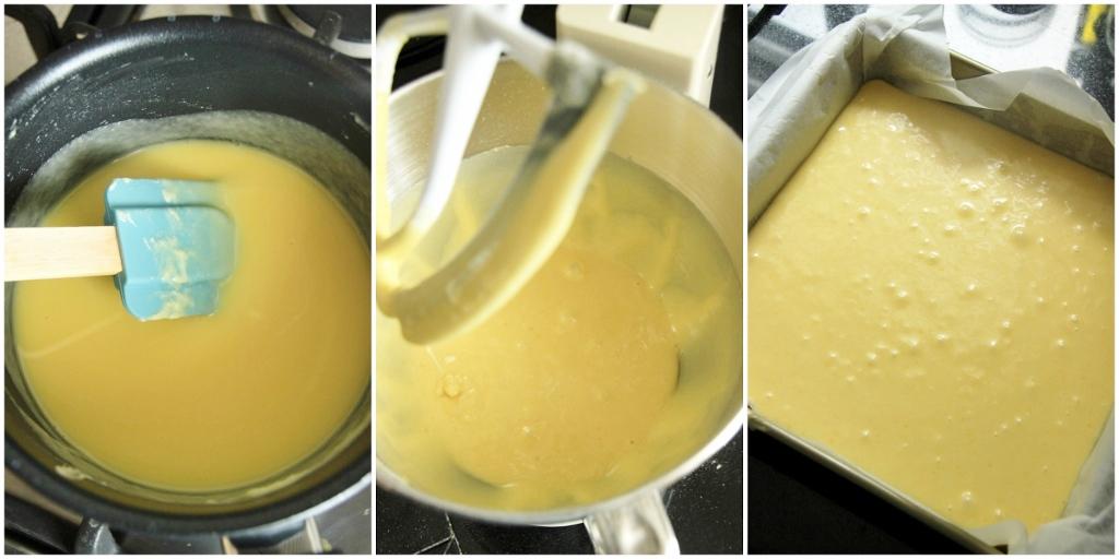 Sanne's Baksels - Witte Chocolade Brownies