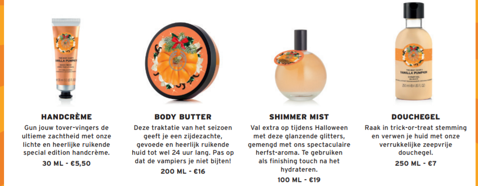 The Body Shop Halloween - The Body Shop Halloween Special Edition - Vanilla Pumpkin
